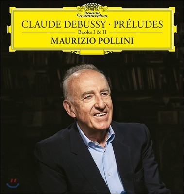 Maurizio Pollini 드뷔시: 전주곡 1, 2권 전곡 - 마우리치오 폴리니 [2LP]