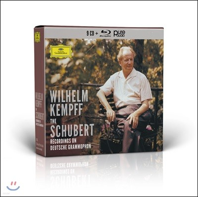Wilhelm Kempff 빌헬름 켐프 슈베르트 솔로 녹음 전집 (The Schubert Recordings on Deutsche Grammophon)