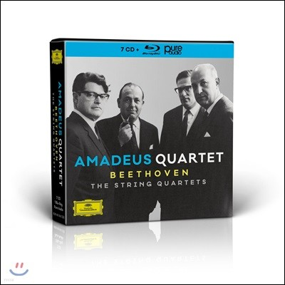 Amadeus Quartet 아마데우스 현악 사중주단 - 베토벤: 현악 사중주 전집 (Beethoven: The String Quartets)
