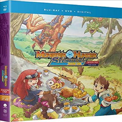 Monster Hunter Stories Ride On: Season One Part Four (몬스터 헌터 스토리즈 라이드 온)(한글무자막)(Blu-ray+DVD)