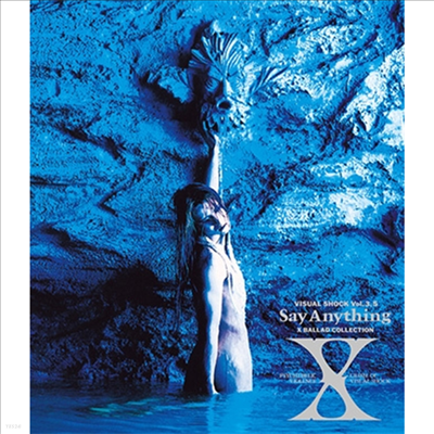 X-Japan (엑스 재팬) - Visual Shock Vol.3.5 Say Anything X Ballad Collection (Blu-ray)(Blu-ray)(2018)