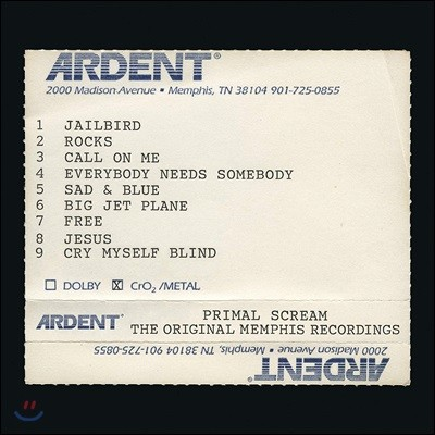 Primal Scream (프라이멀 스크림) - Give Out But Don't Give Up: The Original Memphis Recordings [2LP]