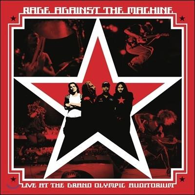 Rage Against The Machine - Live At The Grand Olympic Auditorium 레이지 어게인스트 더 머신 라이브 앨범 [2LP]