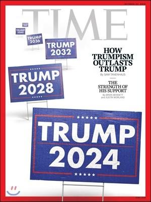 Time (주간) - USA Ed. 2018년 10월 22일 (타임 미국판 : 트럼프 이슈)