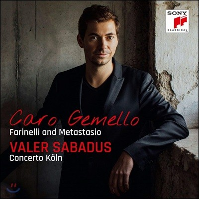 Valer Sabadus 카운터 테너 발러 사바두스 보컬 모음집 (Caro gemello - Farinelli and Metastasio)