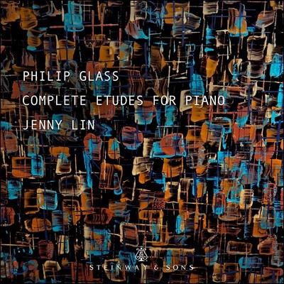 Jenny Lin 필립 글래스: 피아노 연습곡 전곡 (Philip Glass: Complete Etudes For Piano) 제니 린 [2CD]