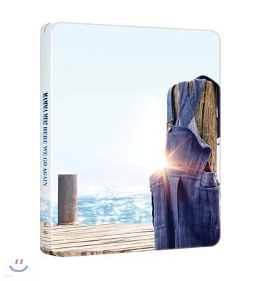 맘마 미아! 2 (2Disc 4K UHD+BD 스틸북 한정수량) : 블루레이