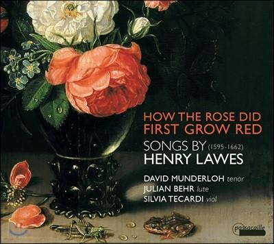 David Munderloh 헨리 로즈: 초기 바로크 성악 및 기악곡 모음집 (Henry Lawes - 'How The Rose Did First Grow Red') 데이빗 먼덜로