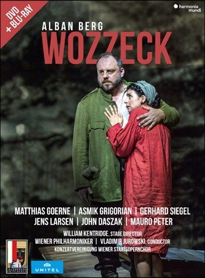 Vladimir Jurowski 알반 베르크: 오페라 '보체크' (Alban Berg: Wozzeck) 블라디미르 유로프스키 [DVD+Blu-Ray]