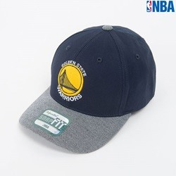 [NBA]GS WORRIORS 로고자수 SNAP FIT CAP (N164AP564P)