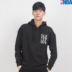 [NBA]CLE CAVALIERS WORDMARK OVER-FIT HOODY (N164TH130P)
