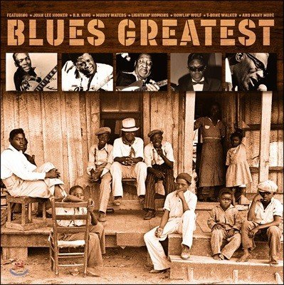 블루스 명곡 모음집 (Blues Greatest - Best of Blues) [LP]
