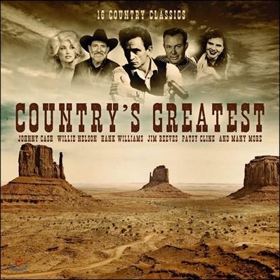 컨트리 음악 모음집 (Country Greatest) [LP]