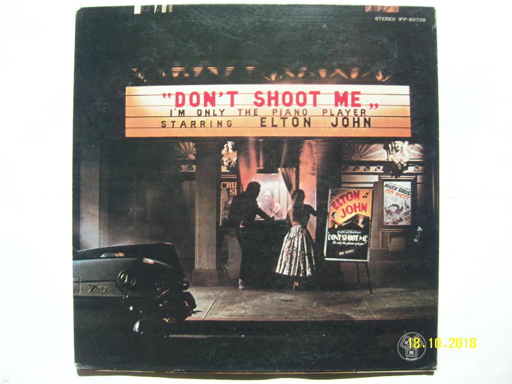 LP(수입) 엘튼 존 Elton John: Don't Shoot Me I'm Only The Piano Player