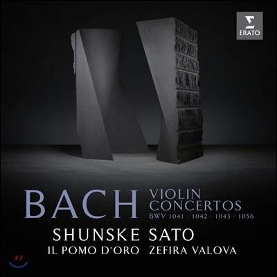 Shunske Sato 바흐: 바이올린 협주곡 (Bach: Violin Concertos) ��스케 사토
