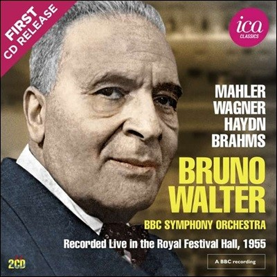 Bruno Walter 브루노 발터 BBC 녹음집 - 말러: 교향곡 1번 / 하이든: 교향곡 96번 / 바그너: 파우스트 서곡