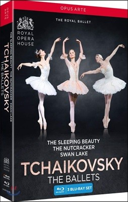 The Royal Ballet 차이코프스키: 로열 발레단 (Tchaikovsky: The Ballets) [3 Blu-ray]