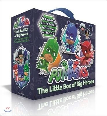 The Little Box of Big Heroes: PJ Masks Save the Library; Hero School; Super Cat Speed; Race to the Moon!