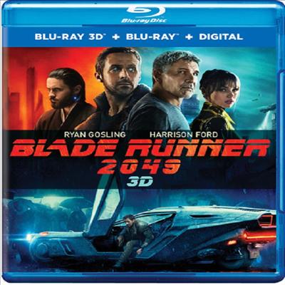 Blade Runner 2049 (블레이드 러너 2049) (한글무자막)(3D Blu-ray)