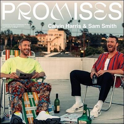 Sam Smith X Calvin Harris - Promises 샘 스미스, 캘빈 해리스 [12인치 맥시 싱글 LP]