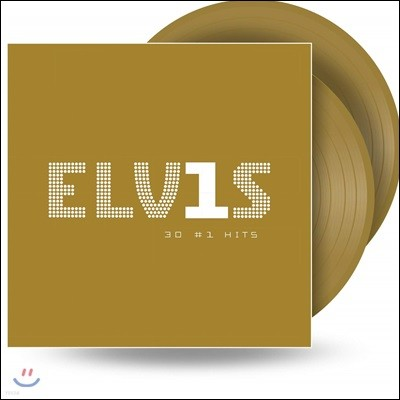 Elvis Presley - Elvis 30 #1 Hits 엘비스 프레슬리 히트곡 모음집 [골드 컬러 2LP]