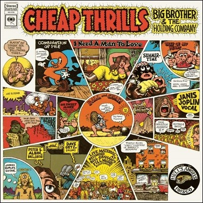 Big Brother / The Holding Company (빅 브라더 앤드 더 홀딩 컴퍼니) - Cheap Thrills [LP]