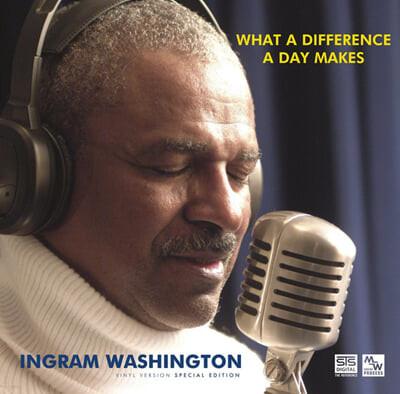 Ingram Washington (잉그램 워싱턴) - What A Difference A Day Makes [LP]