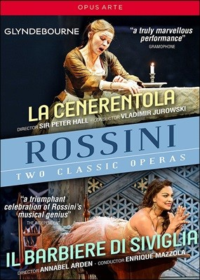 Danielle de Niese / Ruxandra Donose 로시니: 오페라 '신데렐라', '세비야의 이발사' (Rossini: La Cenerentola, Il Barbiere di Siviglia) [3DVD]