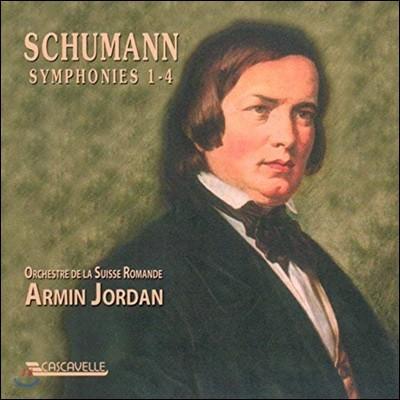 Armin Jordan 슈만: 교향곡 전집 (Schumann: Symphonies No. 1-4)