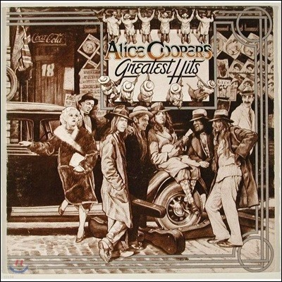 Alice Cooper (앨리스 쿠퍼) - Alice Cooper's Greatest Hits [LP]