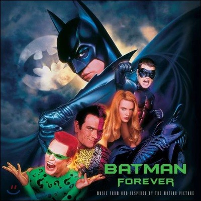 배트맨 3: 포에버 영화음악 (Batman Forever OST by Elliot Goldenthal) [2LP]