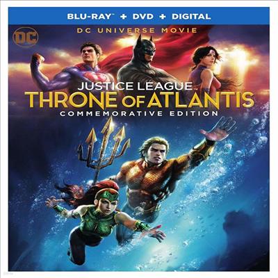 Justice League: Throne Of Atlantis (저스티스 리그: 아틀란티스의 왕좌) (2015) (한글무자막)(Blu-ray + DVD + Digital)