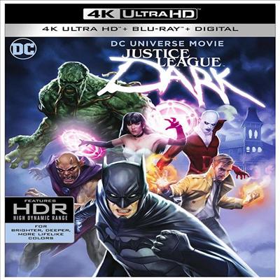 Justice League Dark (저스티스 리그 다크) (2017) (한글무자막)(4K Ultra HD + Blu-ray + Digital)
