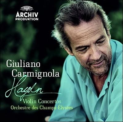 Giuliano Carmignola 하이든 : 바이올린 협주곡 (Haydn: Violin Concertos) 카르미뇰라