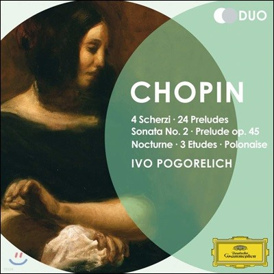 Ivo Pogorelich 쇼팽: 전주곡, 피아노 소나타 2번, 스케르초 등 (Chopin: Scherzi, Preludes, Piano Sonata Op. 35)