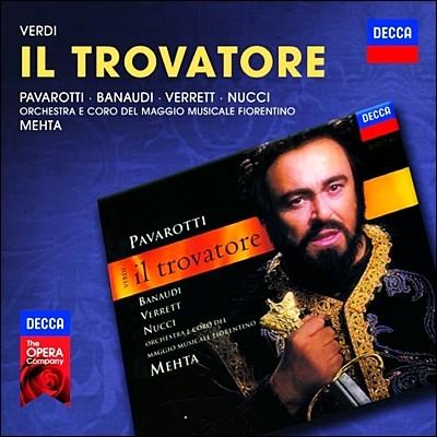 Zubin Mehta 베르디: 일 트로바토레 - 파바로티, 레오 누치, 주빈 메타 (Verdi: Il Trovatore)