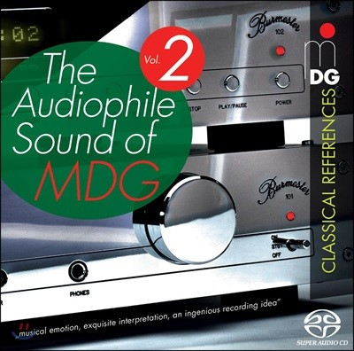 MDG 오디오파일 샘플러 2집 (The Audiophile Sound of MDG Vol. 2 - Classical References)