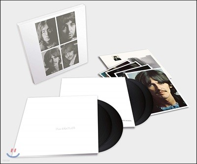 The Beatles - (White Album) 비틀즈 화이트 50주년 기념 앨범 [4LP]