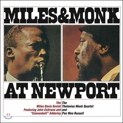 Miles Davis & Thelonious Monk (마일즈 데이비스 & 델로니어스 몽크) - Miles & Monk At Newport [LP]