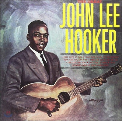 John Lee Hooker (존 리 후커) - Great John Lee Hooker [Limited Edition LP]