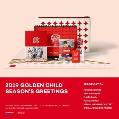 골든차일드 (Golden Child) 2019 시즌그리팅