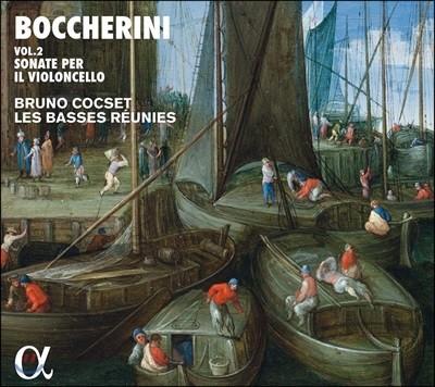 Bruno Cocset 보케리니: 첼로 소나타 2집 (Boccherini: Sonate per il Violoncello Vol. 2)