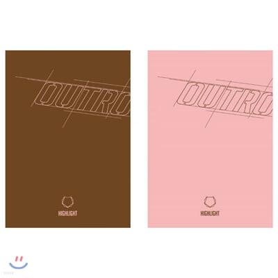 하이라이트 (Highlight) - 스페셜 앨범 : Outro [A/B ver. 중 랜덤발송]