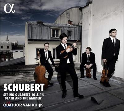 Quatuor Van Kuijk 슈베르트: 현악 4중주 10번 & 14번 '죽음과 소녀' - 반 쿠이크 사중주단