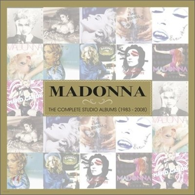 Madonna - The Complete Studio Album (1983-2008) (Limited / Deluxe Edition)