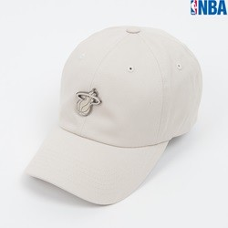 [NBA]CHI 금속장식 LOGO SOFT SHAPE-CURVED FIT CAP(N162AP359P)