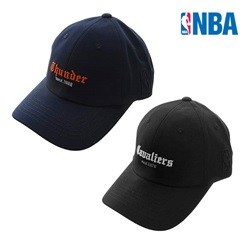 [NBA]CLE CAVALIERS 고딕체 레터링자수 SOFT CURVED CAP (N185AP213P)