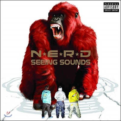 N.E.R.D. (엔이알디) - Seeing Sounds [2LP]