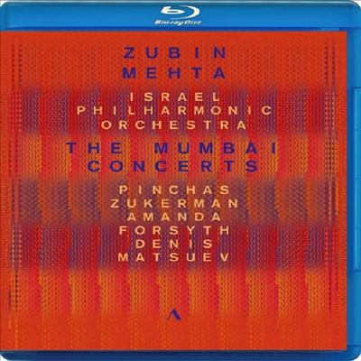 2016년 뭄바이 콘서트 - 주빈 메타 80세 기념 콘서트 (The Mumbai Concerts 2016 - Beethoven: Violin Concerto, Brahms: Double Concerto & Tchaikovsky: Piano Concerto No.1) (Blu-ray) (2018) - Zubin Mehta
