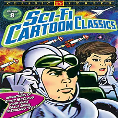 Sci-Fi Cartoon Classics, Volume 8: The Adventures of Scott McCloud (어드밴처 오브 스콧 맥클라우드)(지역코드1)(한글무자막)(DVD)